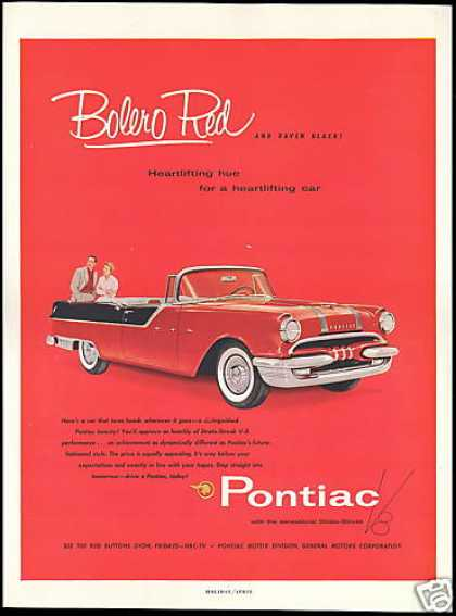 Pontiac Convertible Car Photo Strato Streak (1955)