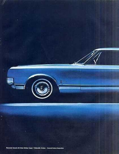 Oldsmobile Dynamic 88 Delta Holiday Coupe Ad 2 Pg (1965)