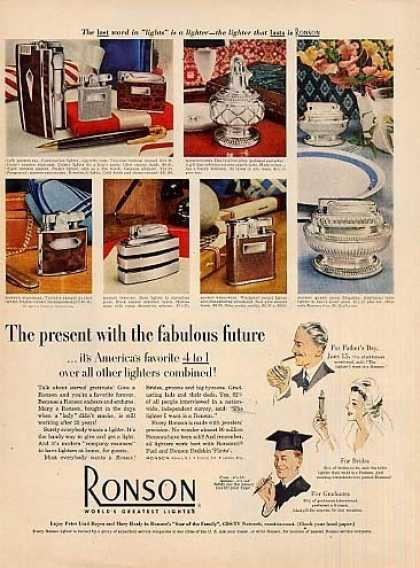 Ronson Lighters (1952)