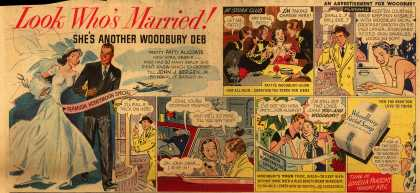 Woodbury's Facial Soap – Look Who's Married! She's Another Woodbury Deb (1949)