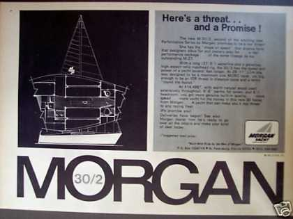 Morgan M-30/2 Sailboat Yacht Boat (1972)