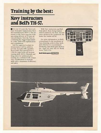 US Navy Bell TH-57 Helicopter (1983)