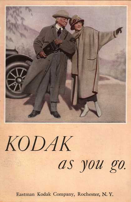 Kodak – Kodak as you go (1920)