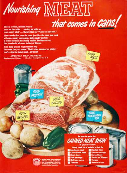 Canned Meat (1950)