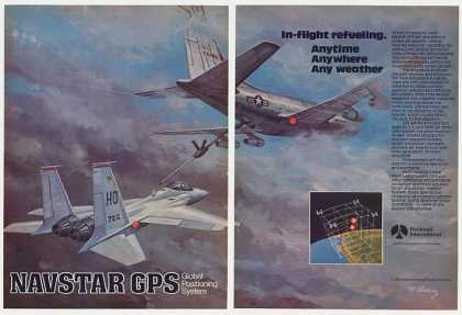 USAF Aircraft In-Flight Refueling Rockwell GPS (1982)