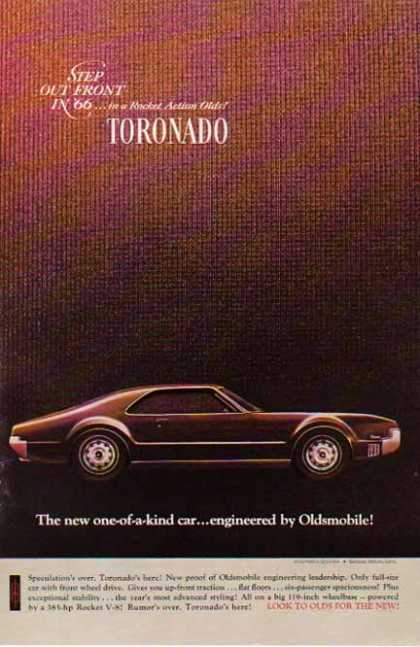 Oldsmobile Car – Toronado (1966)