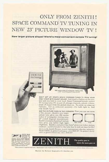 Zenith Premier Space Command TV Tuning (1960)