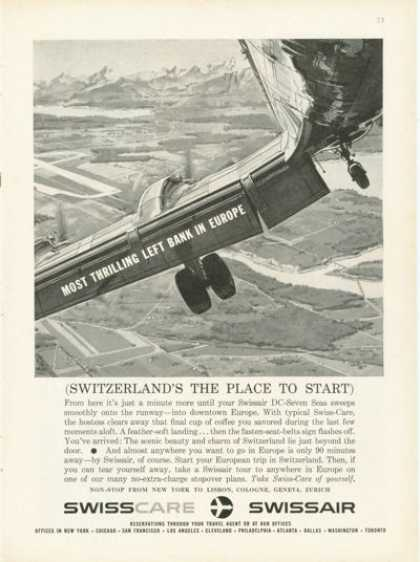 Swissair Dc-seven Seas (1959)