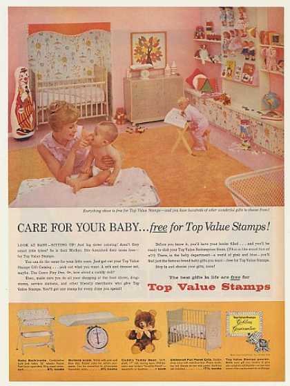Top Value Stamps Baby Furniture (1960)