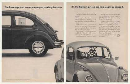 '72 VW Volkswagen Beetle Bug Economy Car Buy Sell 2P (1972)