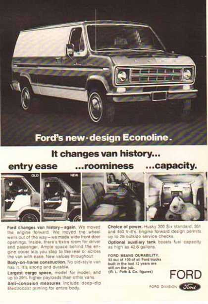 Ford Van – Ford Econoline (1975)