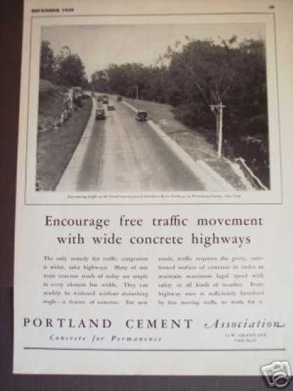 Hutchison River Parkway Photo Portland Cement (1930)