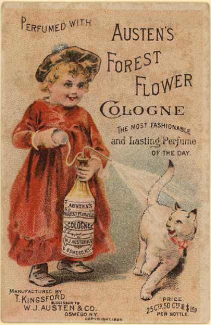 T. Kingsford's cologne – Austen's Forest Flower Cologne