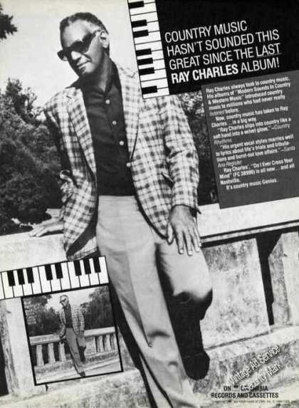 Ray Charles Photo Album Promo (1984)