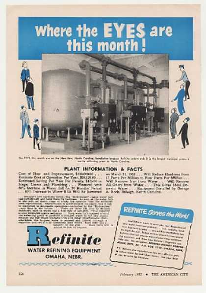 New Bern NC Refinite Water Refining Equipment (1952)