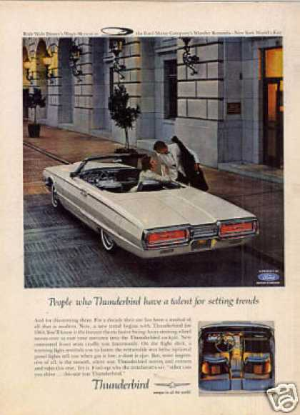 Ford Thunderbird Car (1964)