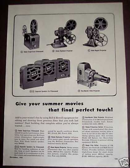 Bell & Howell 8mm Regent Projector Camera (1951)