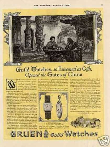 Gruen Watches Color (1920)