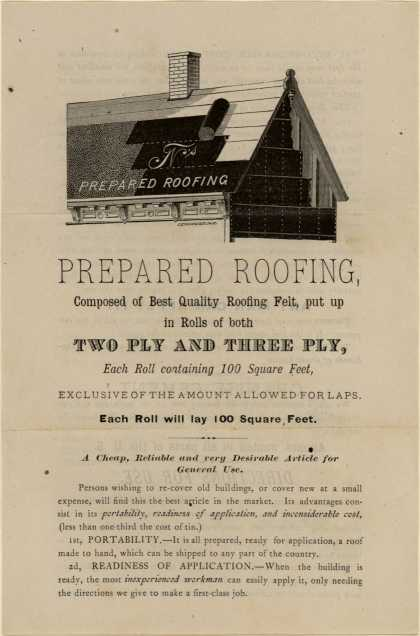 T. New's roofing – Prepared Roofing
