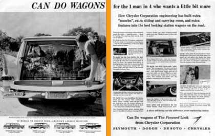 Chrysler Wagon Model Line (1959)