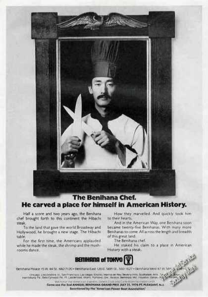 The Benihana Chef Carved a Place for Himself (1976)
