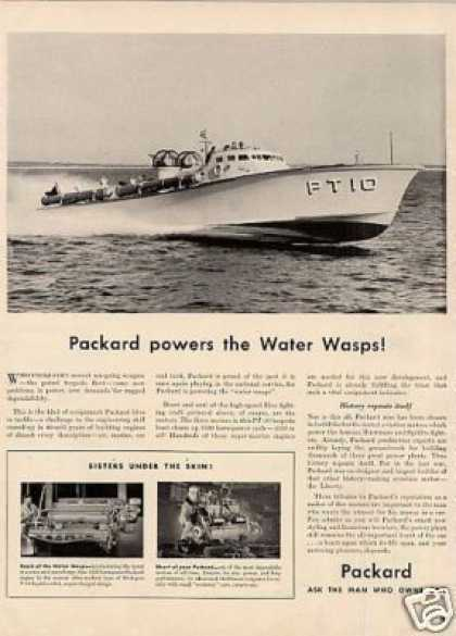 Packard Ad Pt Boat (1941)