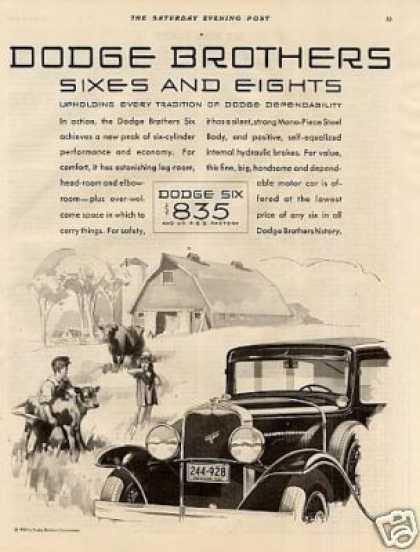 Dodge Brothers Six Car (1930)