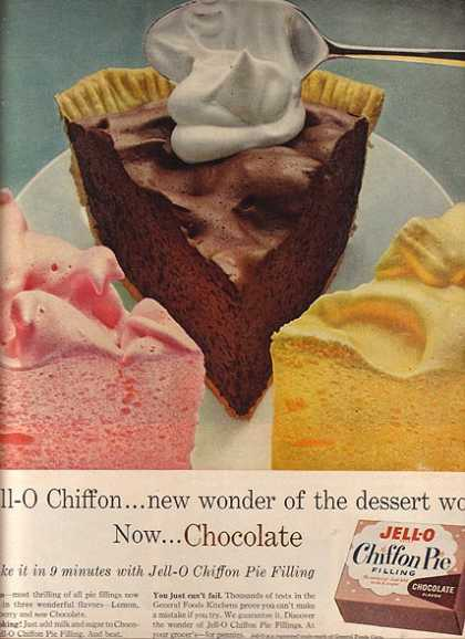 Jello's Chiffon Pie Filling (1958)