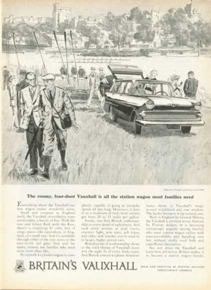 British Vauxhall Station Wagon Ad Row Boat Race (1959)