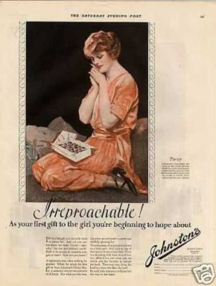 Johnston&#8217;s Chocolate Candy Color (1923)