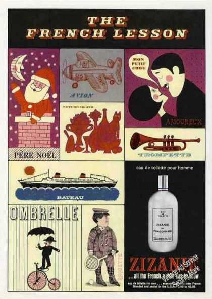 Zizanie Cologne All French a Man Has To Know (1967)