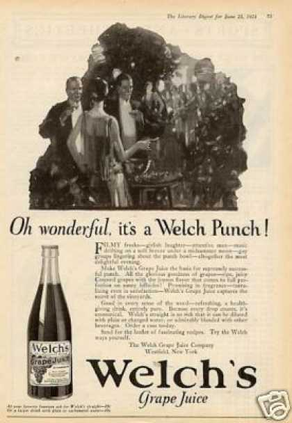 Welch's Grape Juice (1924)