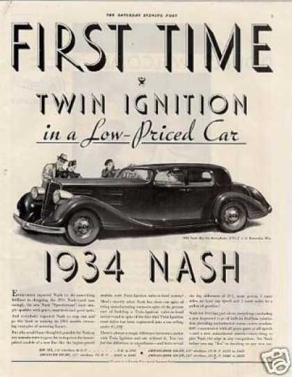 Nash Big Six Brougham Car (1934)