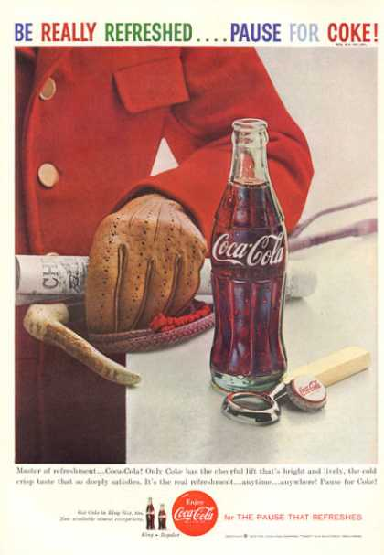 Coke Coca~cola Bottle Cap Opener Print (1959)