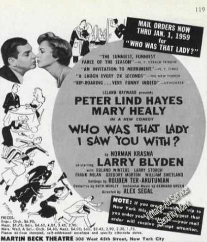 Peter Lind Hayes/mary Healy Theater Promo (1958)