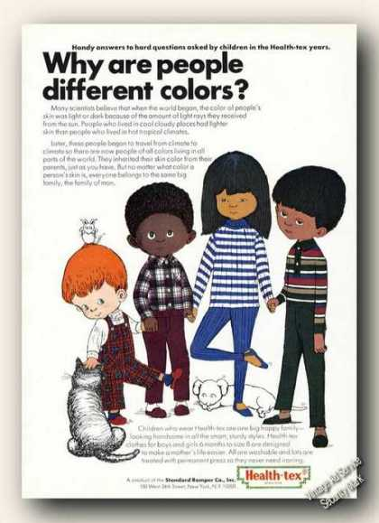 Why Are People Different Colors? Health-tex (1966)