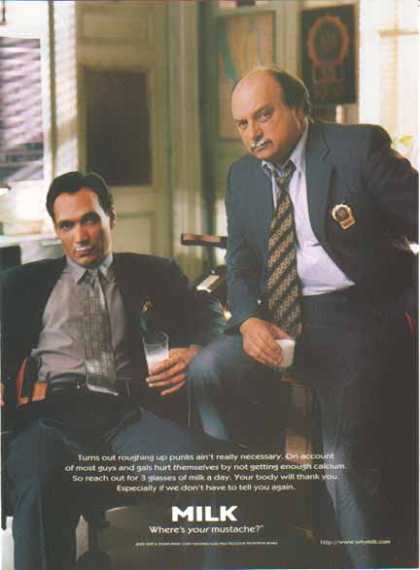 Jimmy Smits & Dennis Franz – GOT MILK? (1997)