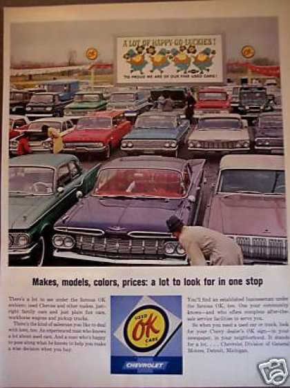 Chevrolet Dealer Ok Used Cars Photo (1964)