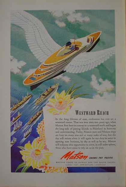 Matson Cruise Lines AND Rohr Aircraft Corporation (1941)