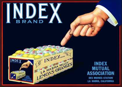 Index 			Lemons, c. s (1920)