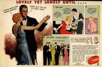 Lever Brothers Company's Lifebuoy Soap – Lovely Yet Lonely Until... (1935)