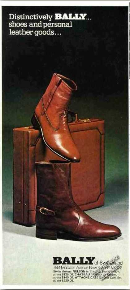 Bally Shoes Photo Nelson & Chateau Styles (1977)
