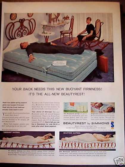 Beautyrest By Simmons Mattress (1958)