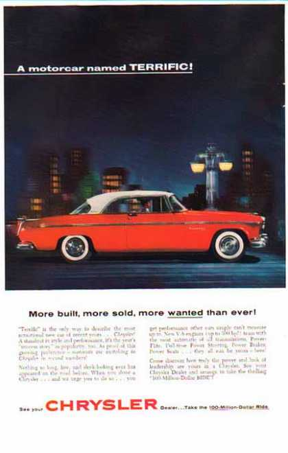 Chrysler Car – A Motorcar Named Terrific / Power Flite (1955)