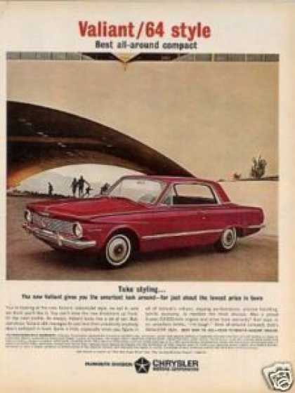 Plymouth Valiant Car (1964)