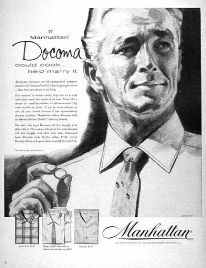 Manhattan Shirt Co. (1957)