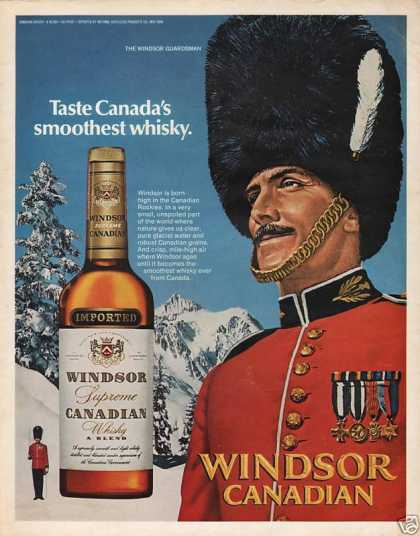 Windsor Canadian Whiskey (1972)