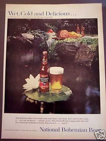 George Lazarnick Photo National Bohemian Beer (1958)
