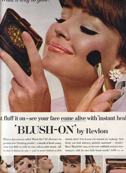 Revlon's Blush-On (1964)