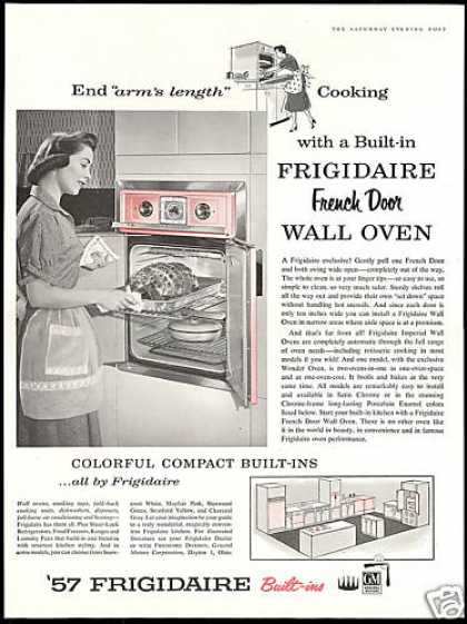 Gm Frigidaire French Door Wall Oven Pink (1957)